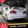 For Honda Civic Spoiler High Quality ABS Material Car Rear Wing Primer Color Rear Spoiler For Honda Civic Spoiler FD2 2006-2011