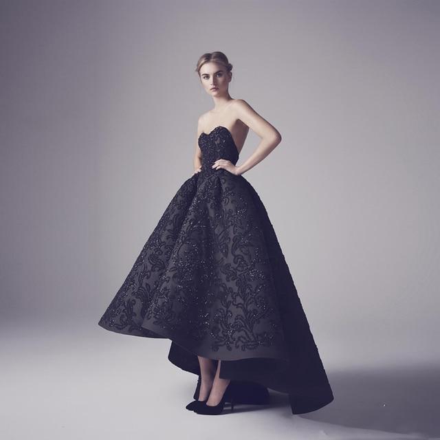 Vintage Black Evening Gown