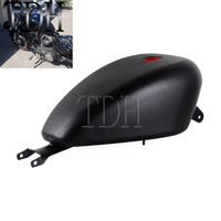 Motorcycle Black Gas Oil Tank for Harley Sportster XL1200 XL883 XL 883 1200 2004 2006 3.3 Gal Fuel Tank