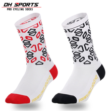 DH SPORTS Professional Cycling Socks Men Women Bicycle Bike Riding Socks Hiking Climbing Running Compression Outdoor Sport Socks цены