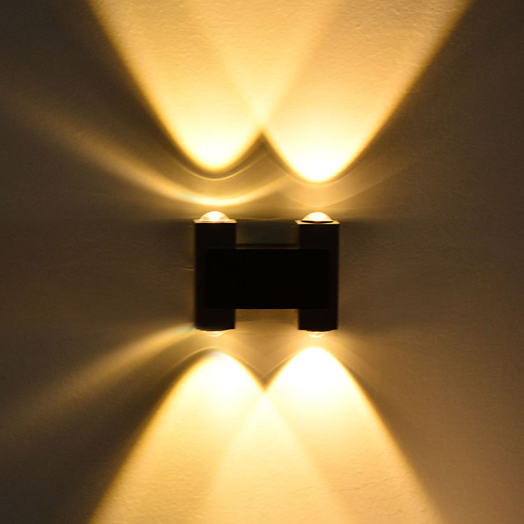 New LED Wall Lamps 4W White/Yellow Color downlight Spot light indoor ...