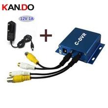 Mini CCTV DVR recorder c-DVR 1CH Playback Function Motion Detected Recording 1CH DVR TF card support 32GB portabl camera DVR