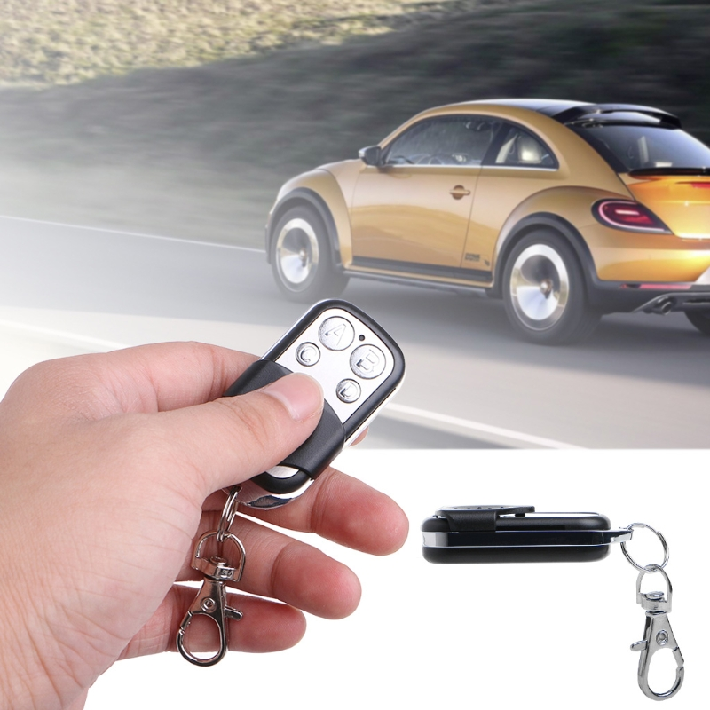 Universal Cloning Remote Control Key Fob For Car Garage Door Gate 433mhz-in Remote Controls from Automobiles & Motorcycles