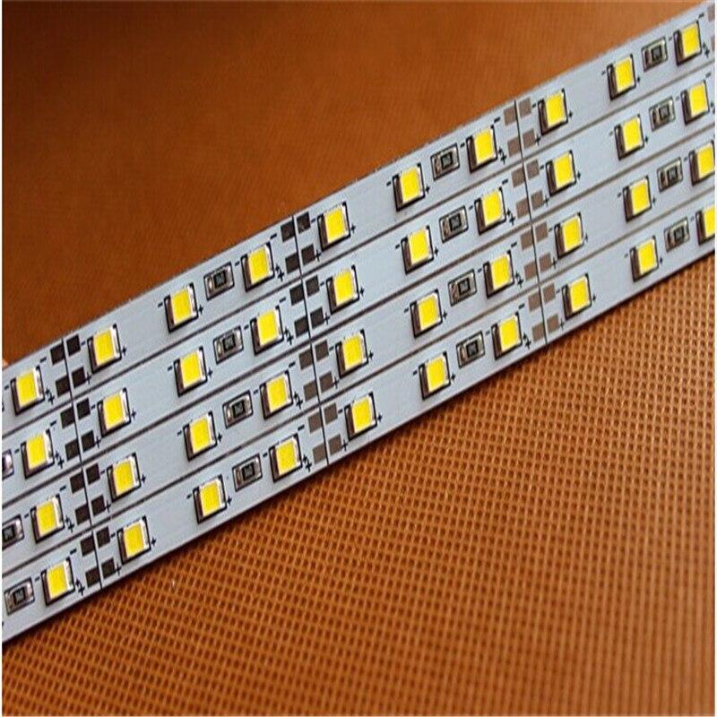Free shipping 10pcs/lot Samsung 2835 SMD led bar light ,ultra slim 5mm led rigid bar ,18.7W/M led hard strip LHS-28-002