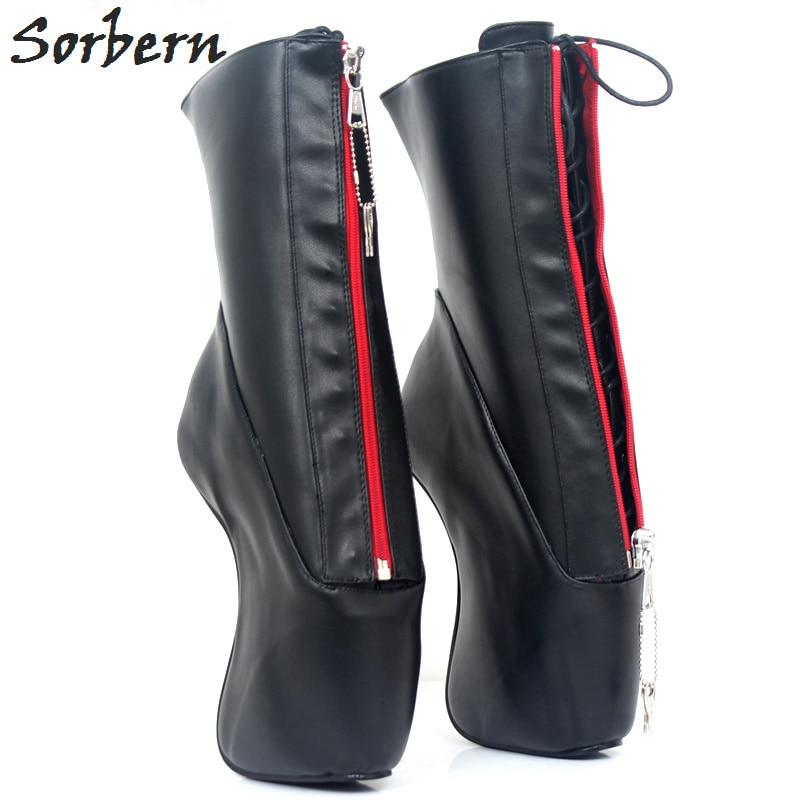 Ballet Encaje Botas Negro Negros Rodilla Custom Hasta Las La Matt WHIYD2E9