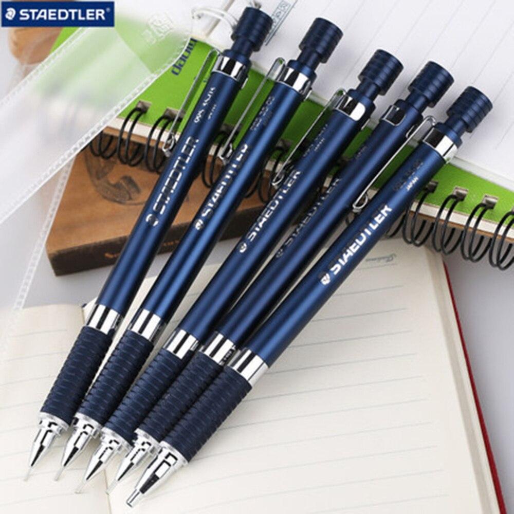 1PCS Staedtler 774 Stationery 0.5/0.7mm  Plastic Triangle Penholder Mechanical Pencil Simple Automatic Pen For School Supplies  цены