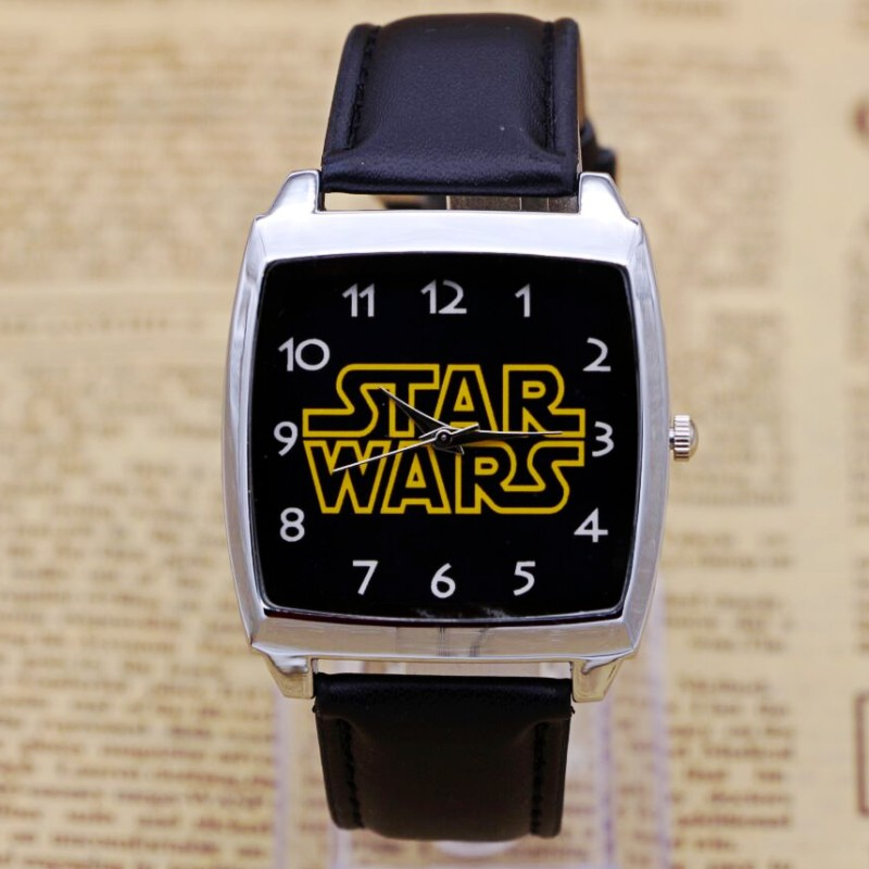 Hot Sale Star Wars Boys Cartoon Watch Lovely Girl Children Watches Strap Quartz Wristwatch Kids Watch