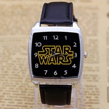 Hot Sale star wars Boys Cartoon Watch Lovely Girl Children Watches