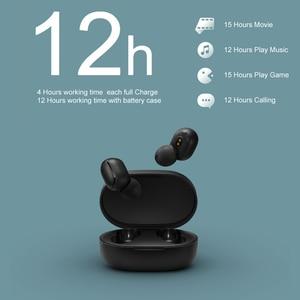 Image 3 - Original Xiaomi Redmi Airdots s TWS Xiaomi Wireless earphone Voice control Bluetooth 5.0 Noise reduction Tap Control