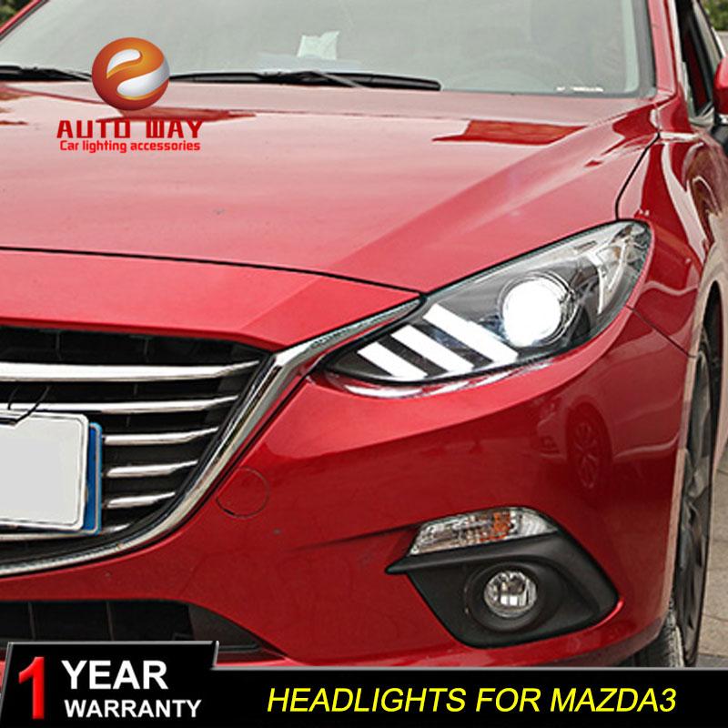 գործը Mazda 3 mazda3 Axela 2014 2015 2015 լուսարձակ LED - Ավտոմեքենայի լույսեր - Լուսանկար 1