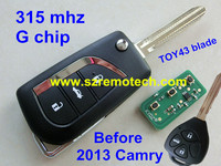 2014 NEW ITEM 3 Button Remote Control Key For Toyota Camry Prado Alphard Land Cruiser With