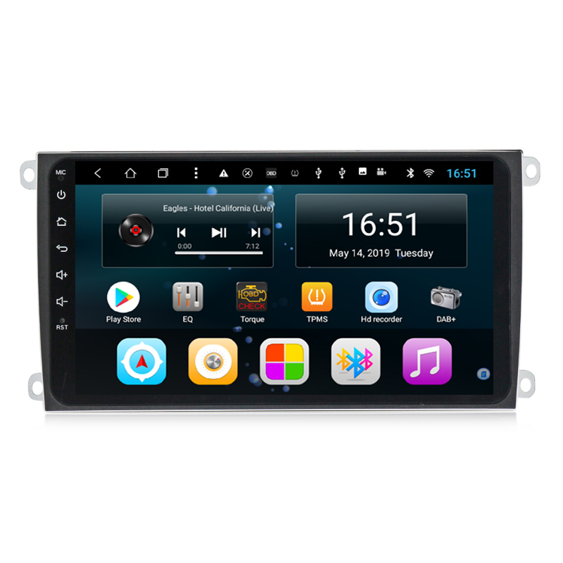 Car built-in Wifi Microphone GPS Navitel RDS Bluetooth Radio system Language for Porsche Cayenne 2003-2010 8inch Android 8.1