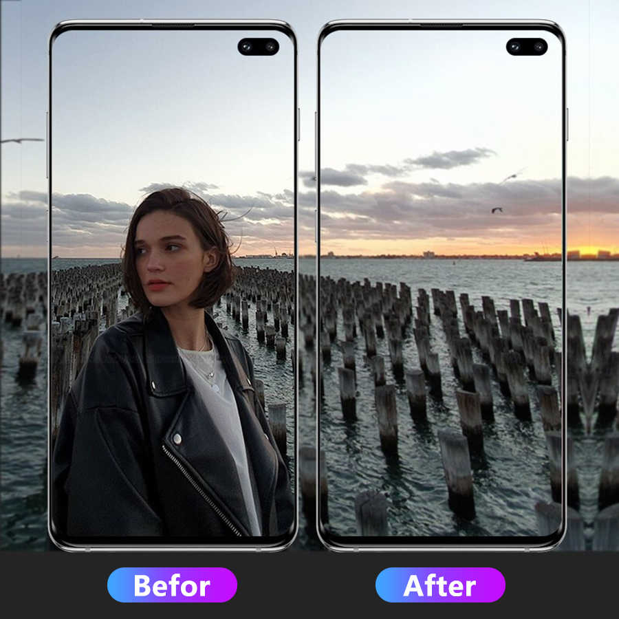 Camera Lens Tempered Glass For Samsung Galaxy S10 Plus lite Lens Screen Protector For Samsung Galaxy S10E Glass Film Full Cover