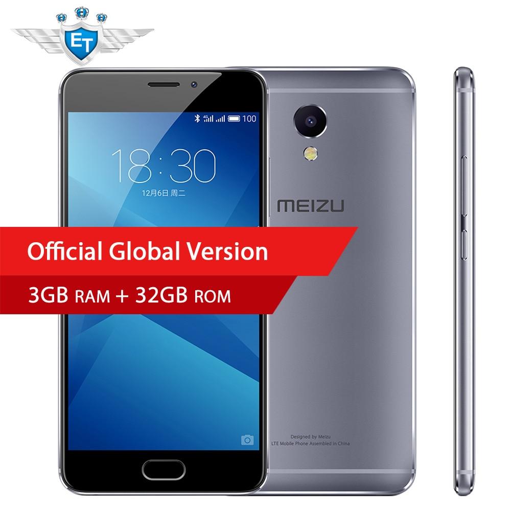 bilder für Globale Version Meizu M5 ANMERKUNG 5 Smartphone 5,5 zoll 1080 P Helio P10 octa-core 3 GB RAM 32 GB ROM 13MP kamera 4000 mAh mTouch
