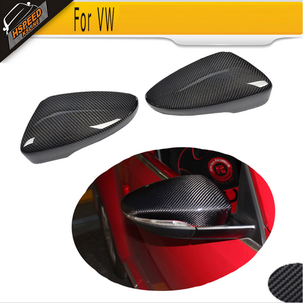 Carbon Fiber Car mirror covers Caps For Volkswagen VW Beetle Coupe 2013 2014 2015 2016 2017