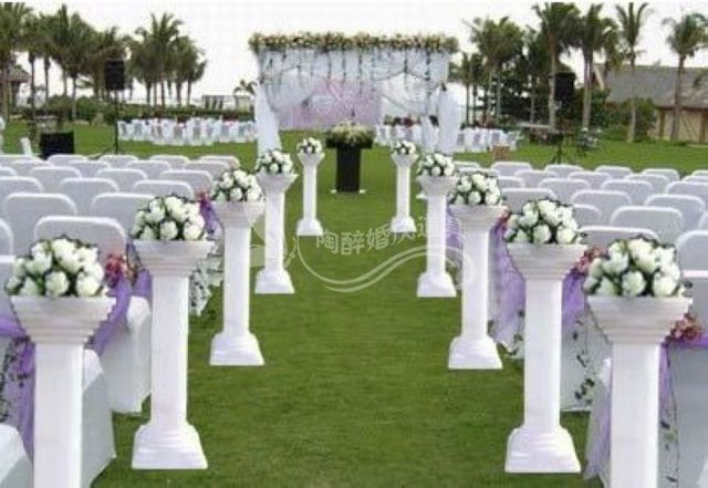 8pcs Lot Wedding Roman Pillars Wedding Road Lead Plastic