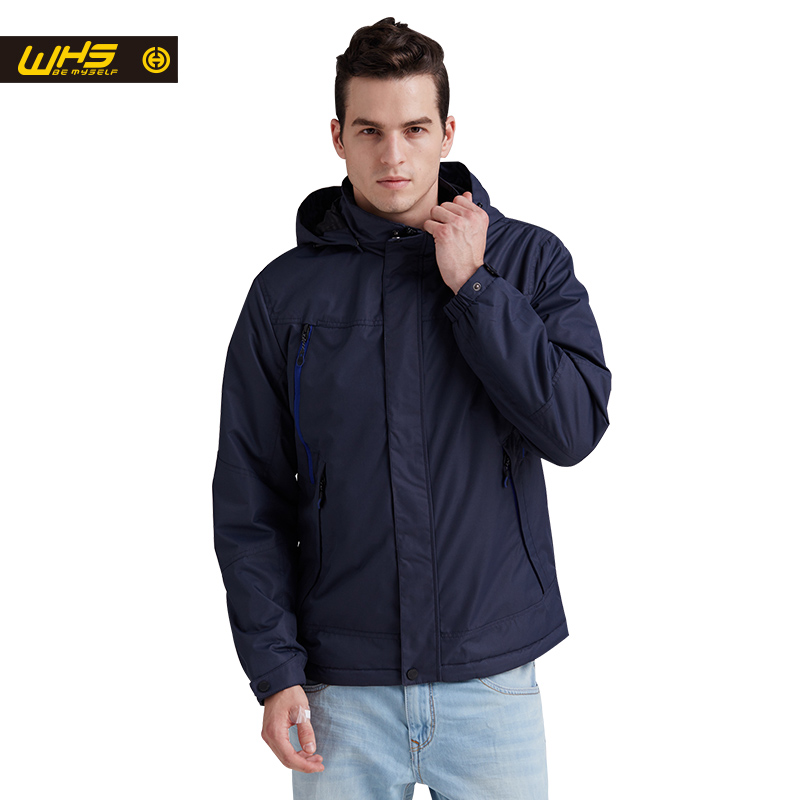 WHS New Autumn Men thin cotton Jacket outdoor sport camping Jackets Windproof Clothes hiking coat Spring Coat