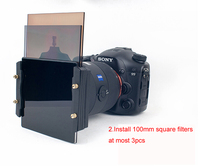 77mm Metal Adapter Ring 100mm Square Filter Holder Support For Haida Lee Hitech Cokin Z PRO