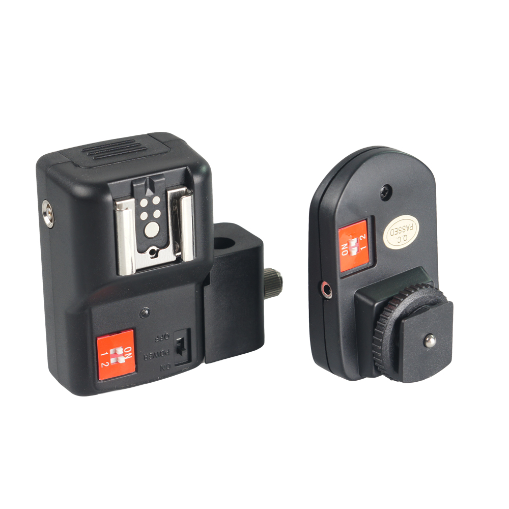 Wansen PT-04NE 4 canales inalámbrico remoto Speedlite Flash Trigger - Cámara y foto - foto 3