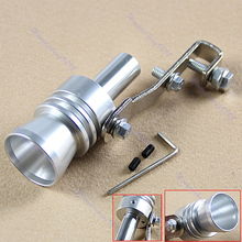 Size XL  Turbo Sound Fake BlowOff Simulator Universal Car Exhaust Muffler Pipe Whistle