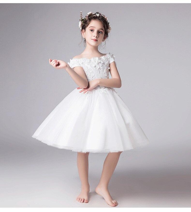 Длинное платье с цветочным узором для девочек, украшенное бусинами; Новинка года; праздничное платье для девочек на свадьбу; Красивое бальное сексуальное платье с открытыми плечами