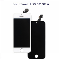 Mobymax AAA Quality LCD Screen For IPhone 5 Display Assembly Replacement With Original Digitizer Phone Parts