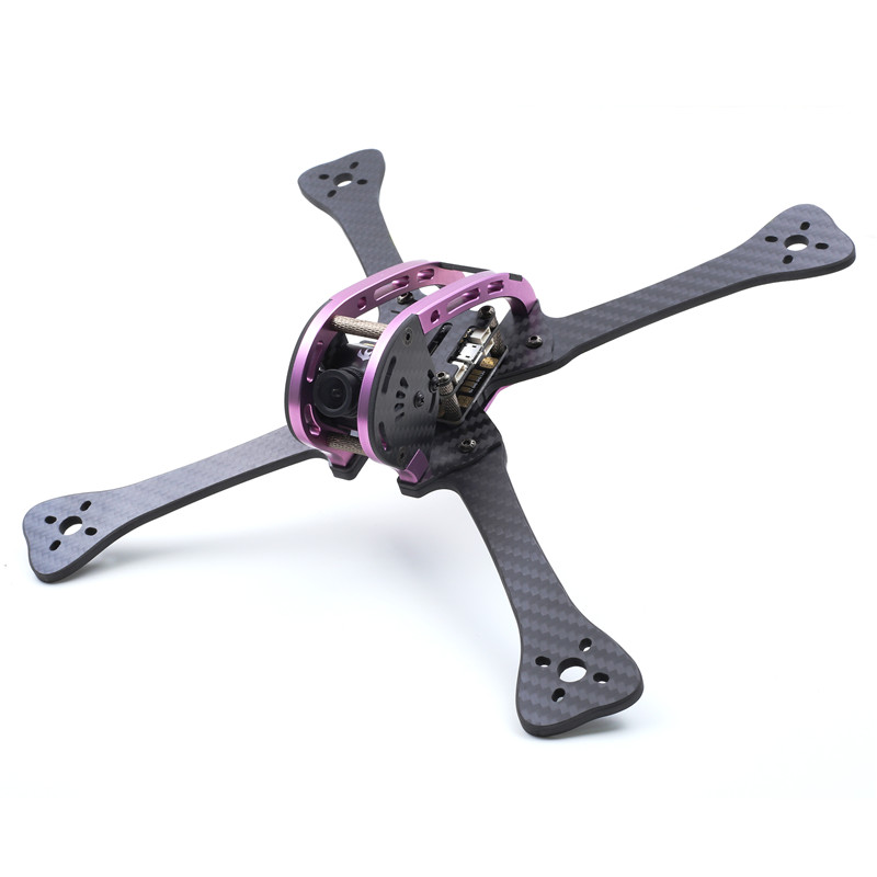 GEPRC GEP LX Leopard Purple Green Edition LX5 220mm FPV Racing Frame 4mm Arm With PDB 5V & 12V for RC Racer Drone Quadcopter DIY niono trex8 6 220mm lite 4mm arm frame kit w 5 8g 200mw 600mw fpv vtx for rc drone fpv racing quadcopter multirotor helicopter