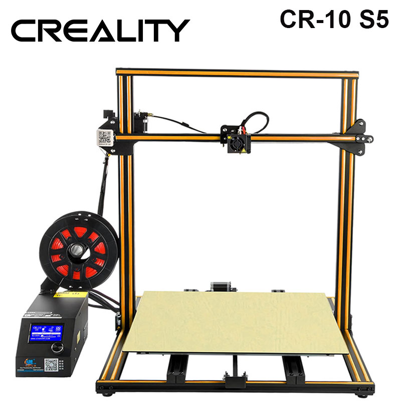 CREALITY 3D Large Printing Size 500*500mm CR-10 S5,Dua Z Rod Filament Sensor/Detect Resume Power Off 3D Printer DIY KitCREALITY 3D Large Printing Size 500*500mm CR-10 S5,Dua Z Rod Filament Sensor/Detect Resume Power Off 3D Printer DIY Kit