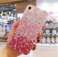 Luxury Bling Phone Cases Full Rhinestone case For Samsung Galaxy S3 S4 S5 S6 S7 Edge S8 S9 Plus Note 2 3 4 5 7 8 Neo G530 G850