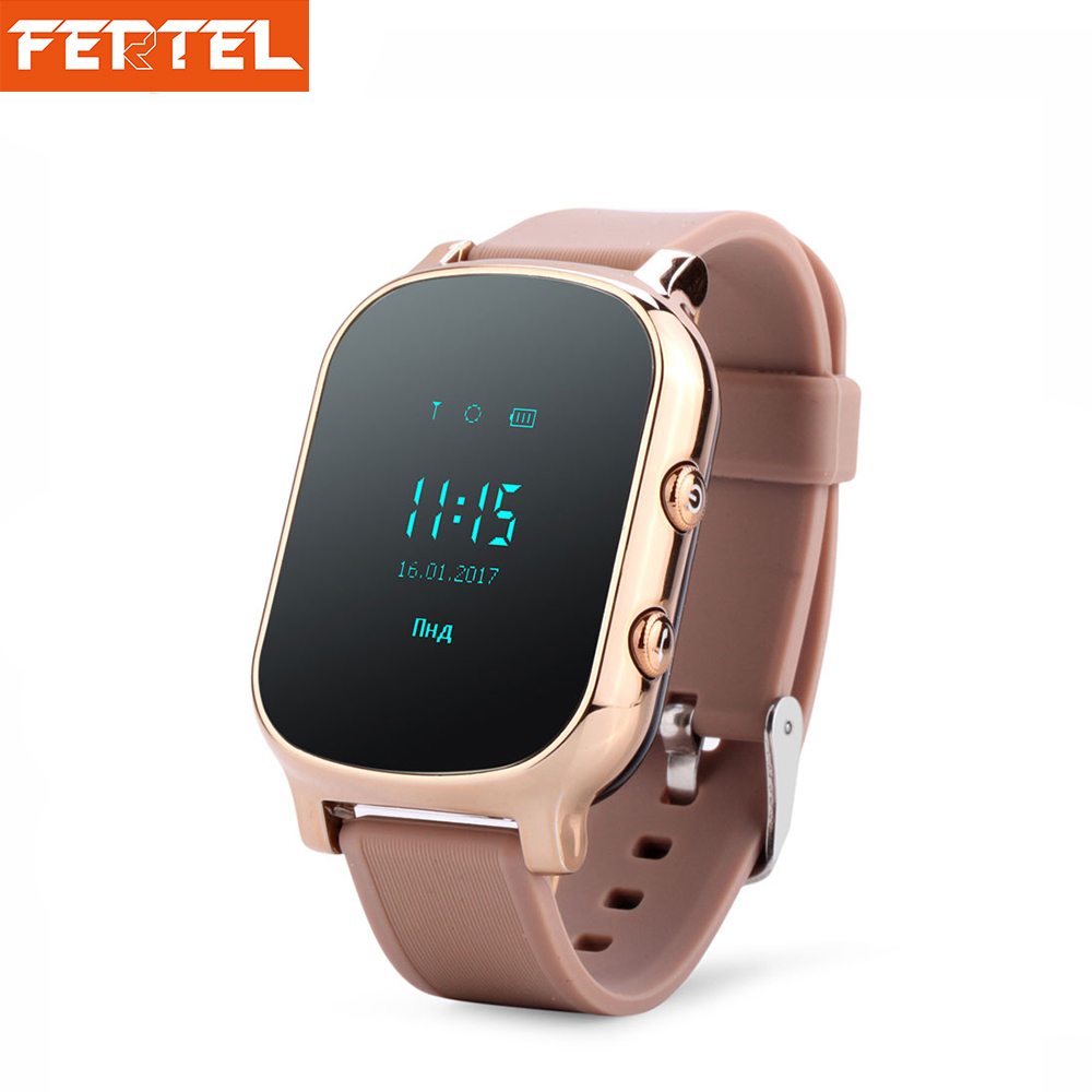 T58 GPS Kids Smart Watch SOS Call Location Finder Locator Tracker for Children Anti Lost Remote Monitor Baby Wristwatch pk Q50 ds18 waterproof smart baby watch gps tracker for kids 2016 wifi sos anti lost location finder smartwatch for ios android pk q50