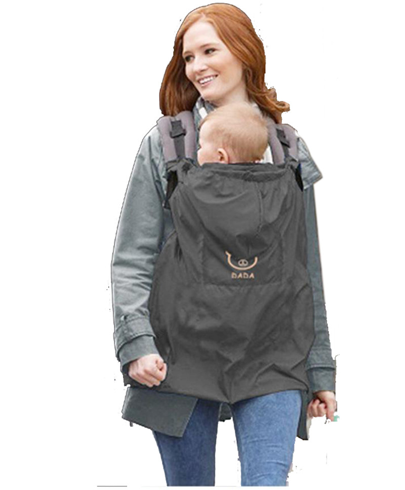 waterproof baby sling winter cloak baby carrier cover kids raincoat