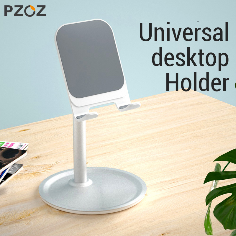 Image 5 - PZOZ Mobile Phone Holder Stand Cell Phone Tablet Universal Desk Holder For iphone X 8 7 Samsung desktop phone holder Accessories-in Phone Holders & Stands from Cellphones & Telecommunications