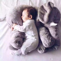 60cm 5colors elephant plush soft toy stuffed baby toy anminal big size appease baby sleep pillow pink baby calm doll kids toy