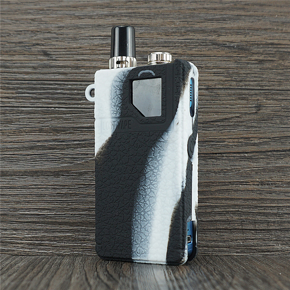 US $7 8 |Texture Case for lost vape orion dna go 40w or lostvape orion Q  universal Protective Silicone Rubber Sleeve Cover Shield Wrap-in Electronic