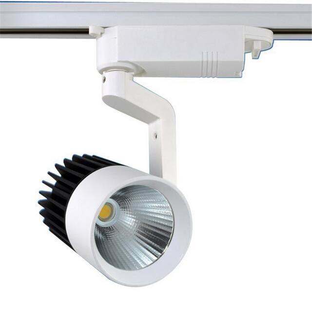 20w Cob Led Track Lamp Kitchen Indoor Spot Lighting Iluminacion Lampara 85v 265v Warm