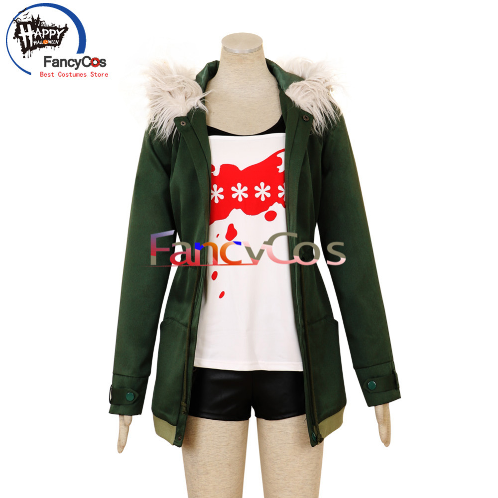 FancyCos Halloween Persona 5  Futaba Sakura Uniform Cosplay Costume Game Custom Made Anime Japanese