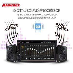 Image 2 - Marubox 706PX5 DSP Hoofd Unit Universele 2 Din Octa Core Android 10.0, 4Gb Ram, 64Gb, gps Navigatie, Stereo Radio,Bluetooth, Geen Dvd