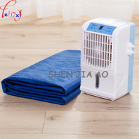 1pc 6W Home Single Small Air Conditioning Refrigeration Mattress Air Conditioner Heating And Cooling Fan Water
