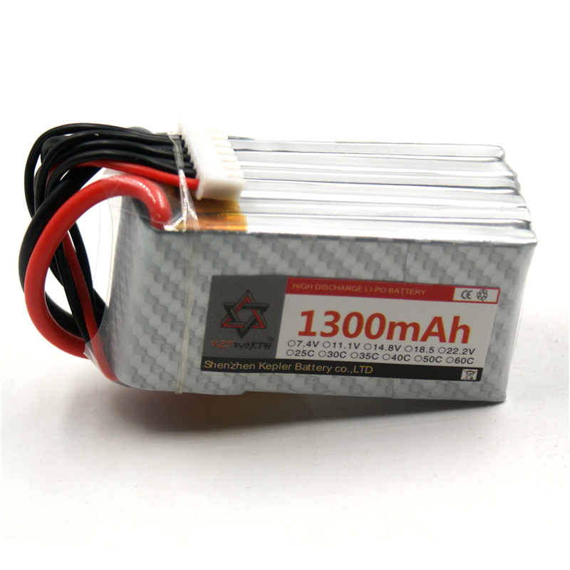 RC <font><b>6s</b></font> 22.2v <font><b>1300mAh</b></font> Car Plane Boat <font><b>Lipo</b></font> Battery Lithium Ion Polymer Battery For Truck Tank Drone Helicopter image