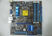 Для asus p7h55-m оригинальный используется для рабочего материнская плата для intel h55 гнездо uATX LGA 1156 Для i3 i5 i7 DDR3 16 Г На Продажу