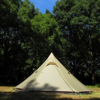 ASTAGEAR finst snow 2 side 20D silnylon ultralight ASTA pyramid outdoor 1/2 person 2 layer 3 seasons camping tent 2