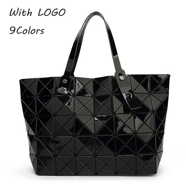 Hot Women Pearl Bag Diamond Lattice Tote Geometry Quilted Shoulder Sac Bags Handbags