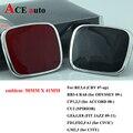 ACE-B подходит для Honda руль значок автомобиля эмблема красный эмблема стайлинга автомобилей для honda civic fit jazz crz Цвет Красный или черный