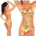 drop shipping Brazilian Bikini Sexy Swimwear Women Swimsuit Bikinis Gold Swimsuit New Zebra Leopard Swimwear Bathing Beachwear b