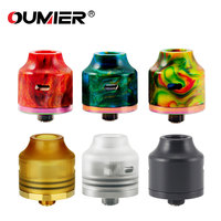 100 Original OUMIER WASP NANO RDA Atomizer Bottom Filling Design Squonkable Bottom Pin Adjustable Airflow Tank