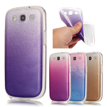 For Samsung S3 Neo Case Silicon Glitter Phone Cases For Samsung Galaxy S3 S III Duos i9300i Neo S3 i9301 Soft Cover Shiny Fundas