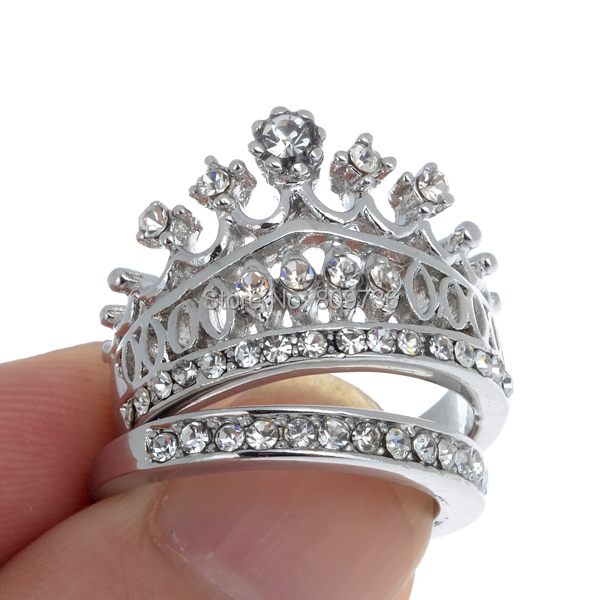 king and queen crown wedding rings wedding rings wedding ideas - Crown Wedding Rings