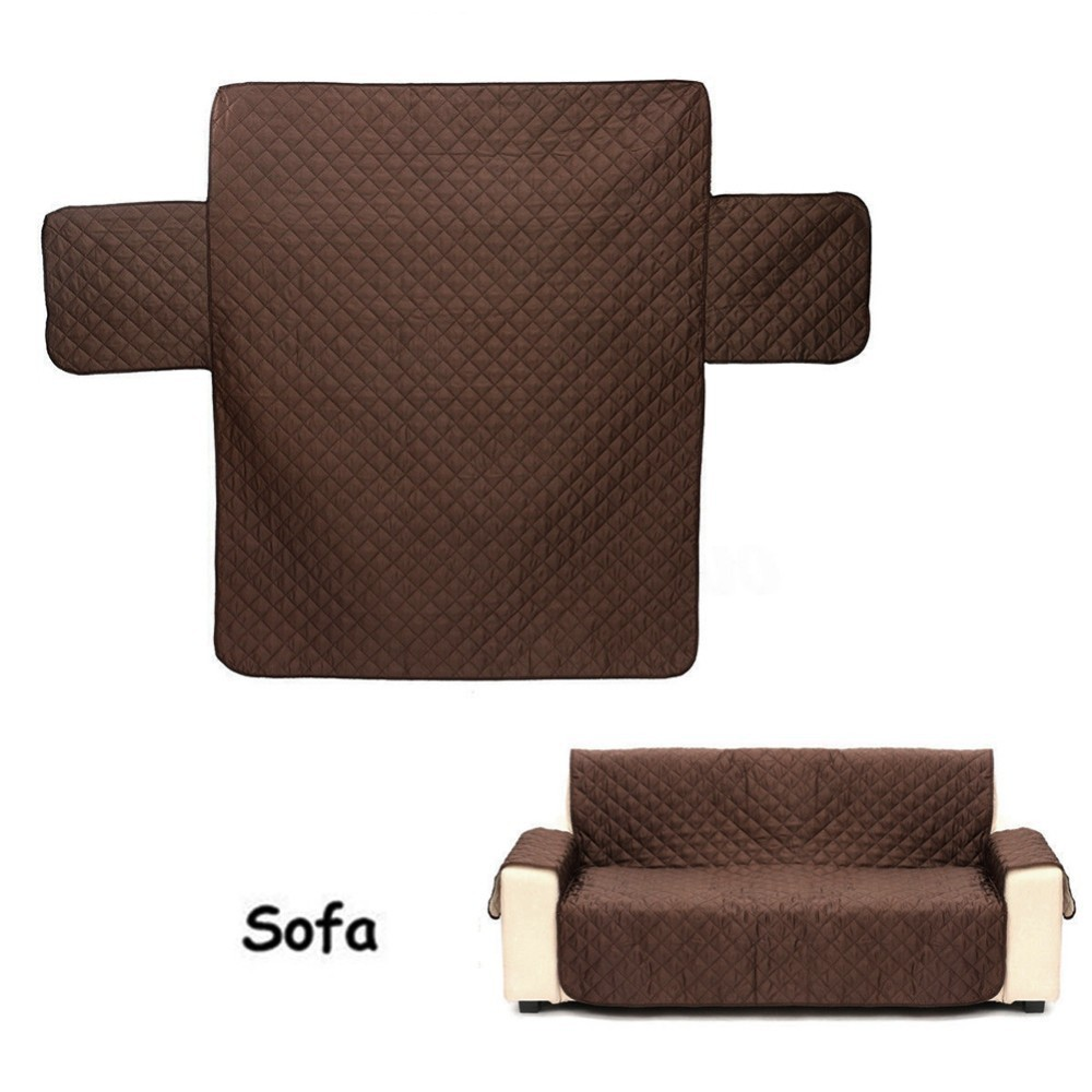 Quilted Couch Covers with Waterproof Back for Sofa and Armchair in Living Room to Protect the Sofa from Scratches 4