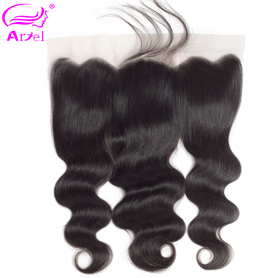 Ariel Body Wave Lace Frontal Closure With Baby Hair 100% Human Hair Closure Peruvian Remy 13x4 Ear To Ear Lace Frontal Closure