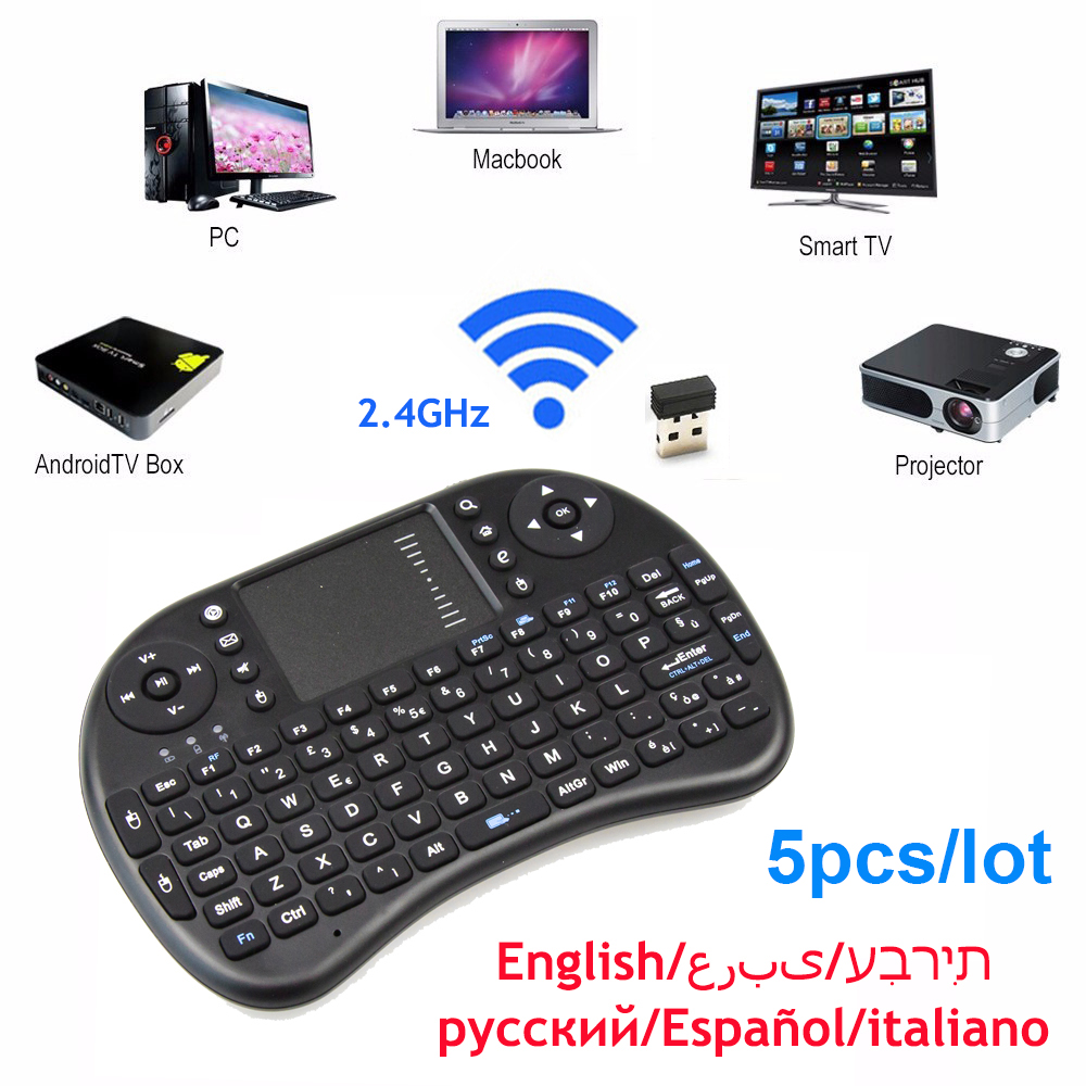 Mini Wireless Keyboard Mouse Remote 2 4GHz Handheld Touchpad USB font b Gaming b font keyboards
